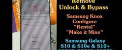 Скачать Remove Bypass MDM Knox Best Buy Samsung S8+ G955U Note 8