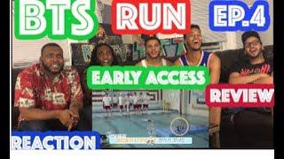 BTS RUN EP 4 REACTION/REVIEW