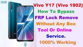 Vivo Y17(1902) FRP Lock Bypass,Without Any Box,Tool In 5 Mintes 100%  Working Solution