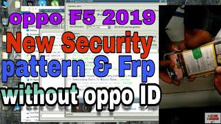 oppo f5 (new security) 2019 pattern remove & Frp Bypass success by Test  point method mrt