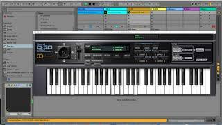 Roland Cloud demo using TR-808, SH-2, Juno-106 and D-50 VST plugins