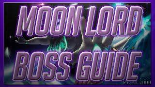 SOLO EXPERT MOON LORD BOSS GUIDE TERRARIA 1 3 - 2019 PC / CONSOLE MOON LORD  GUIDE 1 3 6