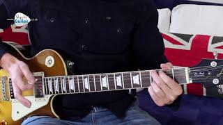 You Shook Me All Night Long - AC/DC Guitar Lesson - Easy Rock Songs To play  On Guitar