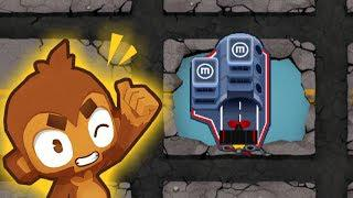 BTD6 - #OUCH CHIMPS BEATEN   The HARDEST Challenge In Bloons TD 6!