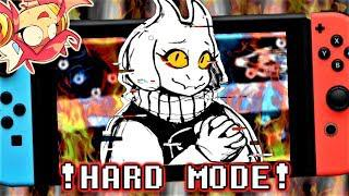 UNDERTALE SWITCHS HARD MODE!! | Undertale Nintendo Switch (Hard Mode  Complete/ Ending)