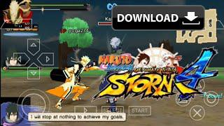 download game ppsspp gold naruto shippuden ultimate ninja storm 4