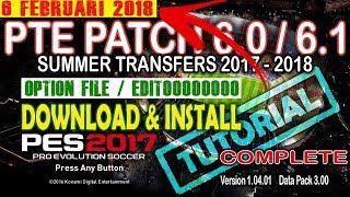 [PES 2017] PTE 6 0 Option File [Summer Final Transfers]