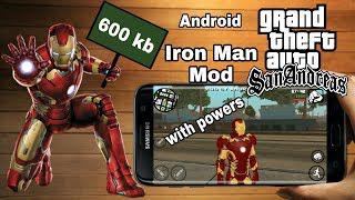 Gta SA Iron Man Mod Android by AndroKaran