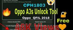 Скачать Oppo A3S CPH1803 firmware flash file pattern lock reset frp