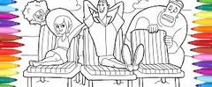 Skachat Hotel Transylvania 3 Coloring Pages For Kids How To