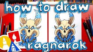 how to draw fortnite ragnarok mask - how to draw ragnarok fortnite max level