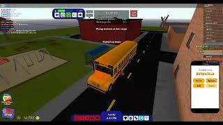 my new inro Roblox RoCitizens [ playing as school bus driver EP 4