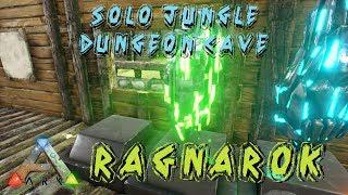 ARK: Survival Evolved - SOLO JUNGLE DUNGEON CAVE!!! Ragnarok - S1E39