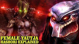 FEMALE YAUTJA HASHORI EXPLAINED - THE WIDOW CLAN - PREDATOR LORE AND  HISTORY EXPLORED