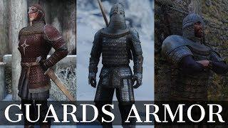 Skyrim Armor Mod: Guards Armor Replacer | Guard and Stormcloak Armors