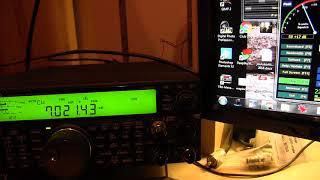 Kenwood TS-590 together with SDRPlay and HRD