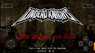 Undead Knights PSP CSO GAMES HD