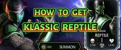Скачать MKX Mobile  How To Get Klassic Reptile from Quest