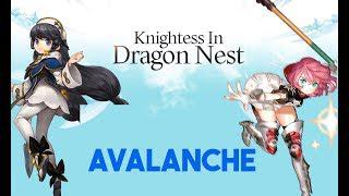 Dragon Nest Korea - Avalanche Skills