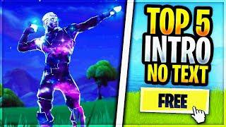 [FREE] TOP 5 INTRO FORTNITE (NO TEXT) - By Z4RKO