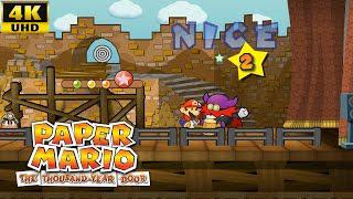 Dolphin Emulator 5 0-3441 Paper Mario: The Thousand-Year Door  [4K/2160p/60fps UHD Texture Pack] GCN