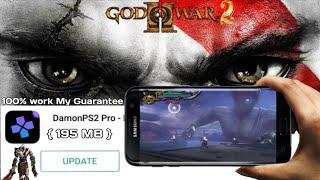 Damon PS2 pro | best settings | God of War 2 on Android 100% work apk+data  { 195 MB } compressd