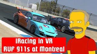 iRacing in VR - RUF 911 GT3 Challenge at Montreal