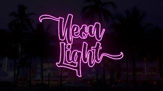 Tutorial: How to make Neon Light Text Effect in Photoshop (Eng/Rus Sub)