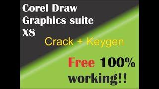 download crack for corel draw x8