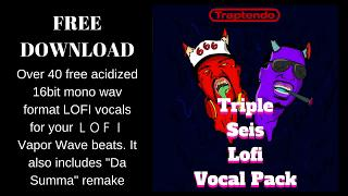 free download Friday: TRIPLE SEIS LOFIvocal pack!