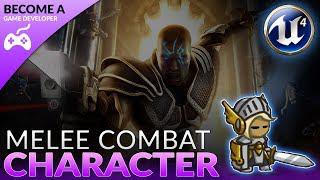 Melee Combat Based Character - #19 Creating A Role Playing Game With Unreal  Engine 4