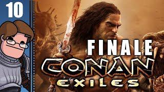 Lets Play Conan Exiles Multiplayer Part 10 FINALE - Walking Away