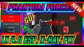 NEW HACK PHANTOM FORCES GUI SCRIPT LX, ESP, CHAMS, X-RAY, NOCLIP, FLY,  AIMBOT AND MUCH MORE!!
