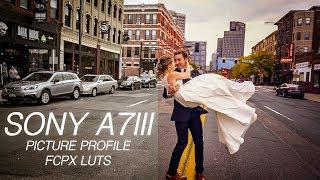 Sony A7III Picture Profile and FCPX LUTs For Weddings