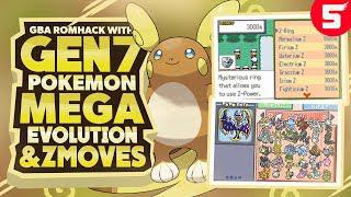 Completed Pokemon GBA Rom Hack With Z Moves, Mega Evolution, Gen 7, Ultra  Beasts & Alola Forms!