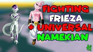 FIGHTING FRIEZA & UNIVERSAL NAMEKIAN | HOW TO LEVEL UP FAST ON NAMEK IN  DRAGONBALL Z FINAL STAND