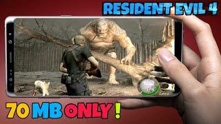 [70MB] Resident Evil 4 Android Download || PSP HIGHLY Compressed game ||  Fortnite Android Apk obb GU