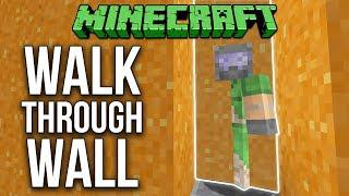 how to see through walls in minecraft
