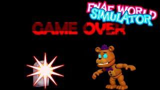 SUPREME FREDBEAR IS IMPOSSIBLE!! | FNAF World Simulator
