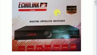 ECHOLINK 3000 HD RECEIVER NEW AUTO ROLL POWER VU SOFTWARE OCT 2018
