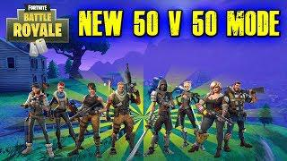 live fortnite 50 v 50 gamemode snowball launcher coming soon ps4 come play - 50v50 fortnite ps4