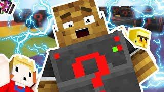 *NEW* ELECTRIC LUCKY BLOCK MONEY HUNT *MOST OP MOD EVER* - Minecraft Modded  Mini-Game