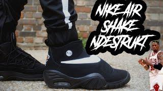 promo code 932cb 23a48 THE MOST UNDERRATED BASKETBALL SHOE OF ALL TIME  !  NIKE AIR SHAKE DSTRUKT  REVIEW AND ON FOOT 4K !!
