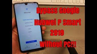BOOM!!! Huawei P Smart 2019 /POT-LX1/  Remove Google Account,Bypass FRP