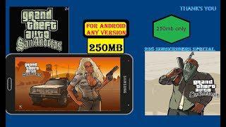 gta san andreas apk+data highly compressed in (200mb) adreno