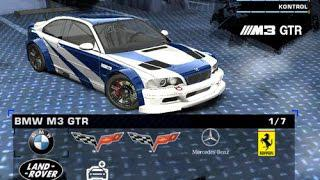 Need For Speed Most Wanted Car Mod Bmw M3 Gtr E46 2012