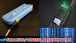 Tips on using SDR Plus and DSDPLUS to listen to DMR/DIGITAL conversations