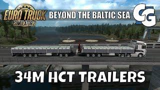 ETS2 - Beyond the Baltic Sea - HCT Trailer HYPE! (No Mods)