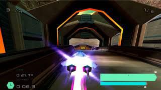 WipEout Pulse PCSX2 - Orcus White Single Race - 60FPS Patch