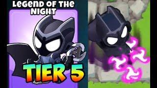 Bloons TD 6 - LEGEND OF THE NIGHT - 5TH TIER SUPER MONKEY